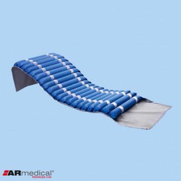 Materac przeciwodleżynowy rurowy marki ARmedical wyłogi do zawijania