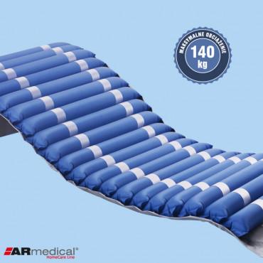Materac przeciwodleżynowy rurowy marki ARmedical