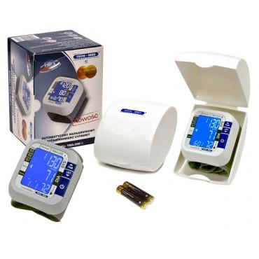 Ciśnieniomierz nadgarstkowy elektroniczny TECH-MED TMA-200 (B) cały zestaw