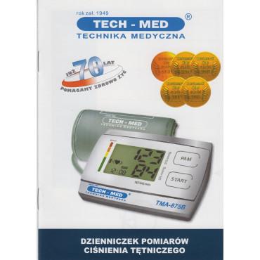 Ciśnieniomierz elektroniczny TECH-MED TMA-875B pudełko